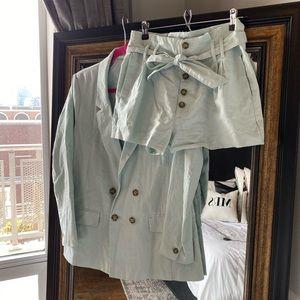 Abercrombie & Fitch Shorts Suit Set